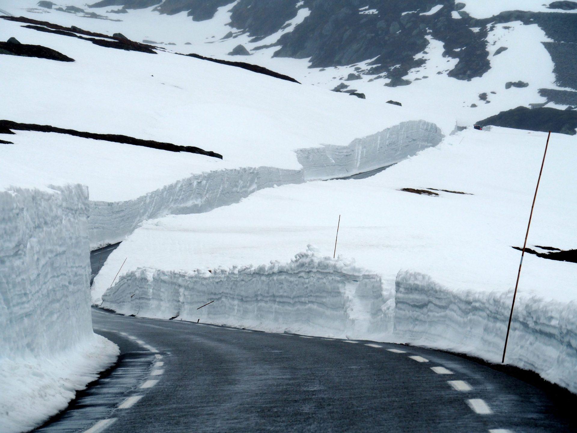 Noorwegen in de winter