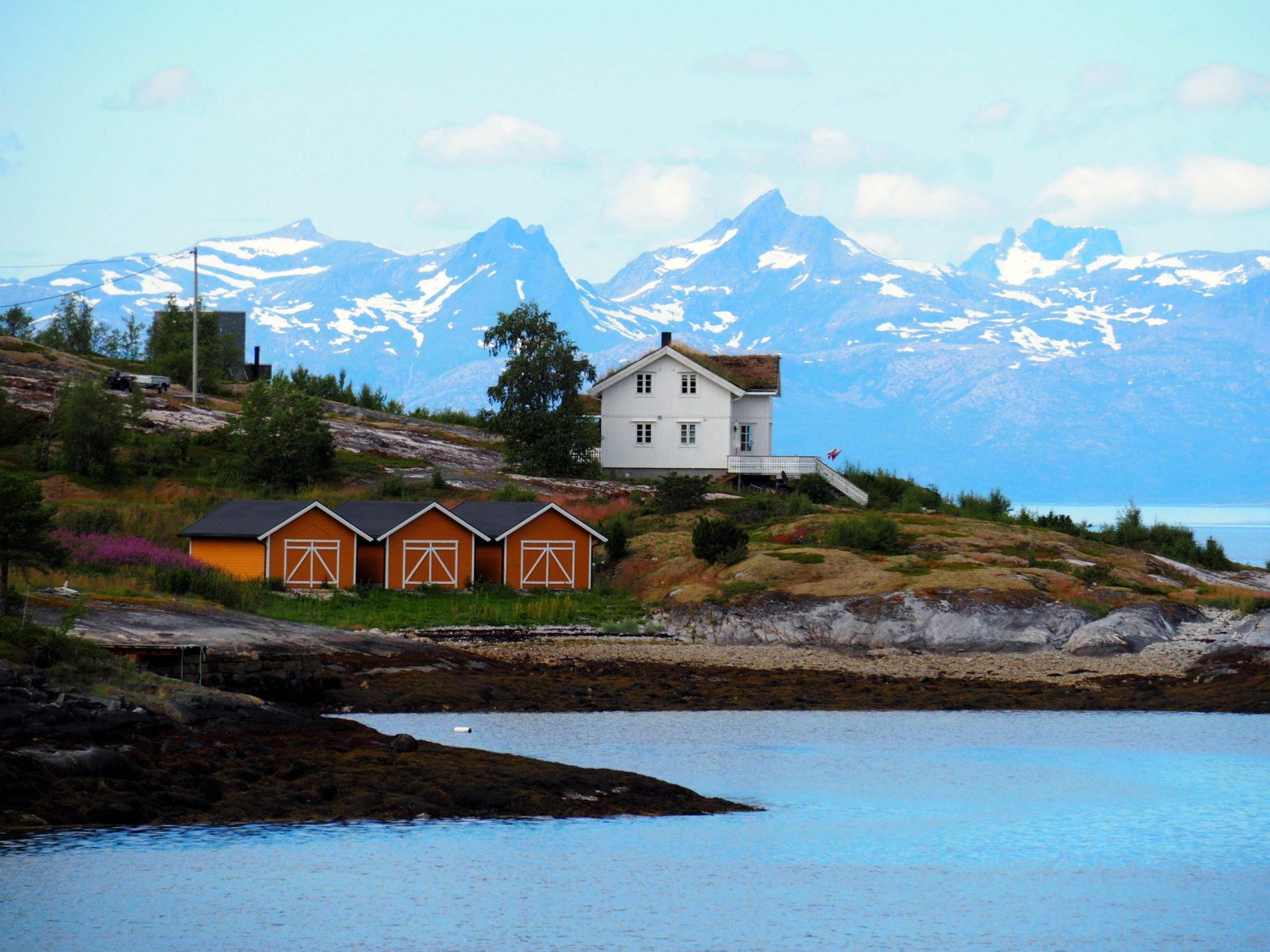 Noorwegen in de zomer